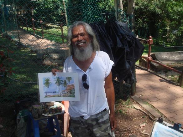 Hippy artist